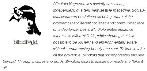 Blindfold quote
