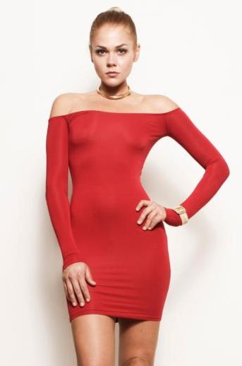 Red Bodycon