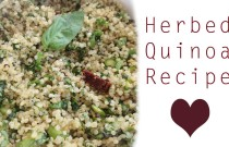 Sunday Side: Herbed Quinoa