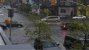 Flash Flood in NYC, photo courtesy of Breaking News