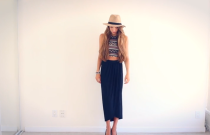 How I Style My Black Maxi Skirt!
