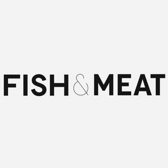 fish and meat logo