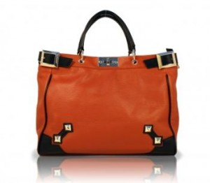Melrose Tote Orange
