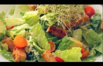 THE BEST VEGAN CAESAR SALAD RECIPE!