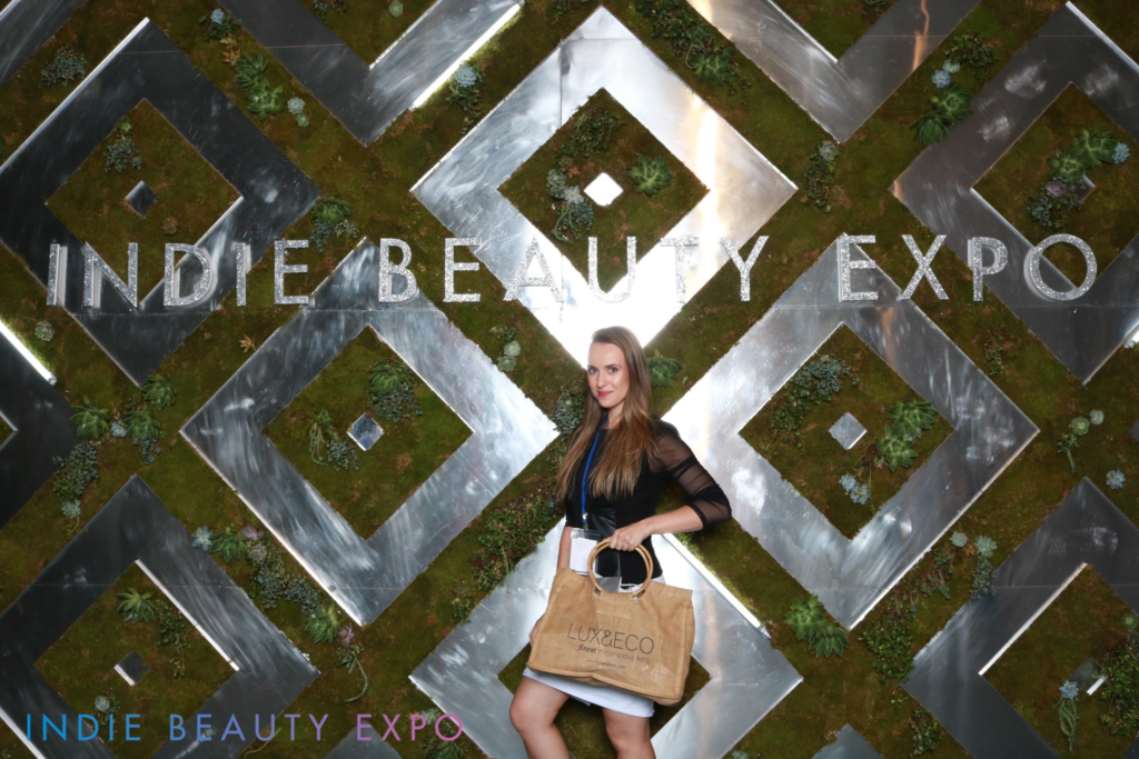 Indie Beauty Expo, IBe NYC, Lux & Eco, beauty and wellness coach, lisa Sheremet
